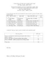 đề thi thực hành tốt nghiệp khóa 3 - kỹ thuật máy lạnh và điều hòa không khí - mã đề thi ktml - đhkk - th (9)