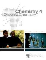 Chemistry 4: Organic Chemistry 1 doc