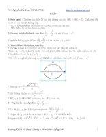 Lý thuyết và bài tập về E- líp pot