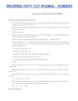 Chuyên đề vật lý hạt nhân và bài tập doc