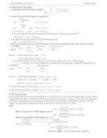 Bài tập xác định công thức phân tử