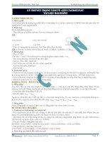 Lý thuyết trọng tâm về axit cacboxylic - tài liệu bài giảng potx