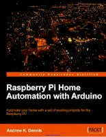 Raspberry Pi Home Automation with Arduino doc