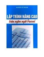 Lập trình nâng cao trên ngôn ngữ pascal doc