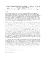 Tích hợp khai phá dữ liệu trong InfoSphere Warehouse với việc tạo báo cáo Cognos của IBM Phần 2: Phát hiện sai lệch với InfoSphere Warehouse và Cognos pptx