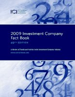 2009 Investment Company Fact Book 49th edition - A Review of Trends and Activity in the Investment Company Industry pptx