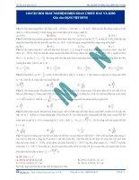 Chuyên đề về dòng điện xoay chiều