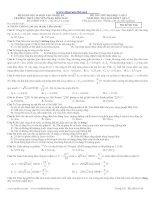 Đề thi chuyên Phan Bội Châu lần 2 năm 2013 có đáp án ppt