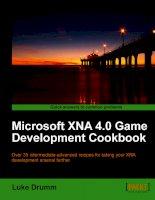 Microsoft XNA 4.0 Game Development Cookbook ppt