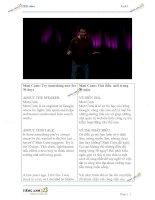 Luyện nghe 20 bài TED song ngữ Anh Việt