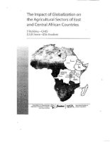 the impact of globalization on the agricultural sectors of east and central pptx