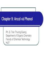 Chapter 9: Ancol và Phenol docx