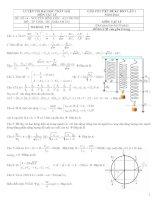 Giải chi tiết đề thi thử đại học vinh lần 1 năm 2014