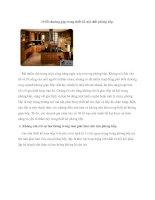 10 lỗi thường gặp trong thiết kế nội thất phòng bếp. pot