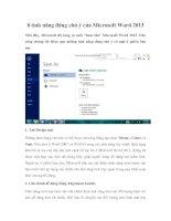 8 tính năng đáng chú ý của Microsoft Word 2013 pdf