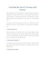 """6 cách nhận diện """"bạn ảo"""" trên mạng xã hội Facebook pptx"""