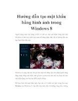 Hướng dẫn tạo mật khẩu bằng hình ảnh trong Windows 8 doc