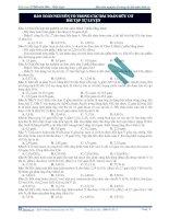 Bảo toàn nguyên tố trong các bài toán hữu cơ bài tập tự luyện docx