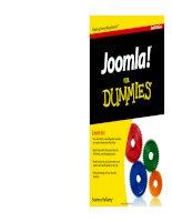 joomla for dummies 2nd edition pot