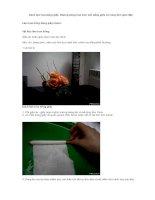 Cách làm hoa bằng giấy potx