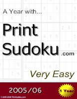 trò chơi ô số A year with Print Sudoku very easy doc