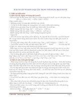 Bài toán về kim loại tác dụng với dung dịch muối potx