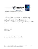 Developer''''s Guide to Building XML-based Web Services with the Java 2 Platform, Enterprise Edition (J2EE) pptx