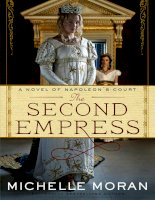 The Second Empress by Michelle Moran pot
