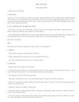 Viết bài tập làm văn số 1 lớp 11 - văn mẫu