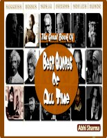 The great book of best quotes of all time  - Abhi Shamar
