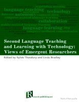 second language teaching and learning witch technology doc