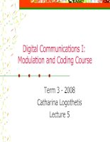 Digital Communication I: Modulation and Coding Course-Lecture 5 potx