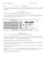 Đề kiểm tra môn sinh học quốc tế - Ngôn ngữ tiếng anh ( Đề 3 )