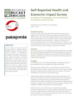 Self‐Reported
