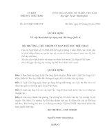Luật thi đấu cầu lông nam nữ