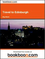 Travel to Edinburgh pptx