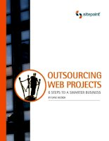 Outsourcing Web Projects: 6 Steps to a Smarter Business potx