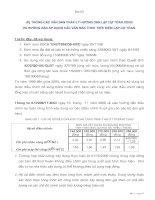 Hệ thống các văn bản pháp lý hướng dẫn lập dự toán XDCB và hướng dẫn áp dụng các văn bản theo thời điểm lập dự toán potx