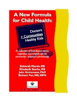 A New Formula for Child Health: Doctors Communities + Healthy Kids pdf