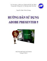 Hướng dẫn sử dụng Adobe Presenter 9 potx