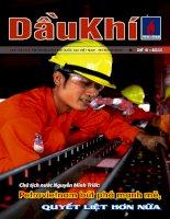 Tạp chí của tập đoàn dầu khí quốc gia Việt Nam - Petrovietnam - Số 02 - 2011 pptx