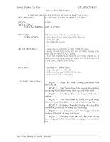 BÀI GIẢNG MÔN HỌC: VẬT LÍ ĐẠI CƯƠNG 2 (ĐIỆN-QUANG) docx