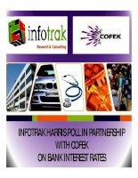 INFOTRAK HARRIS POLL IN PARTNERSHIP WITH COFEK ON BANK INTEREST RATES docx
