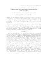 Khảo sát các đặc tính của hệ tri thức F-luật đơn điệu yếu. potx