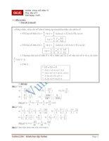 Chuyên đề 2: Số vô tỉ - Toán đại số lớp 7 pot