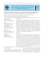 Ứng dụng mạng truyền thông Profibus trong điều khiển mô hình dây chuyền tự động tại phòng thí nghiệm cơ điện tử ppt