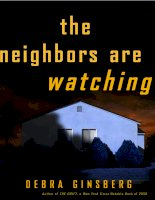 The Neighbors Are Watching by Debra Ginsberg pot
