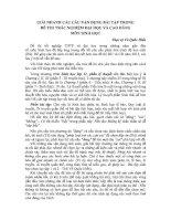 GIẢI NHANH CÁC CÂU VẬN DỤNG BÀI TẬP TRONG ĐỀ THI TRẮC NGHIỆM ĐẠI HỌC VÀ CAO ĐẲNG MÔN SINH HỌC docx