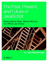 The Past, Present, and Future of JavaScript doc