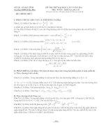 đề thi thử đại học lần 1 môn toán năm 2014 - trường thpt trần phú